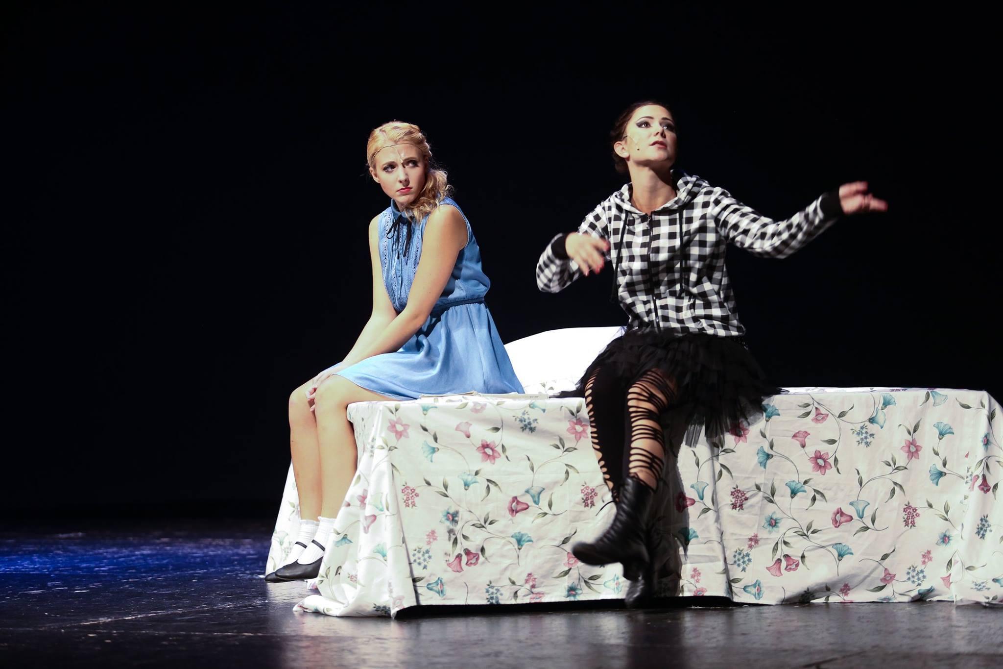 Anička Slováčková a Ivanka Korolová