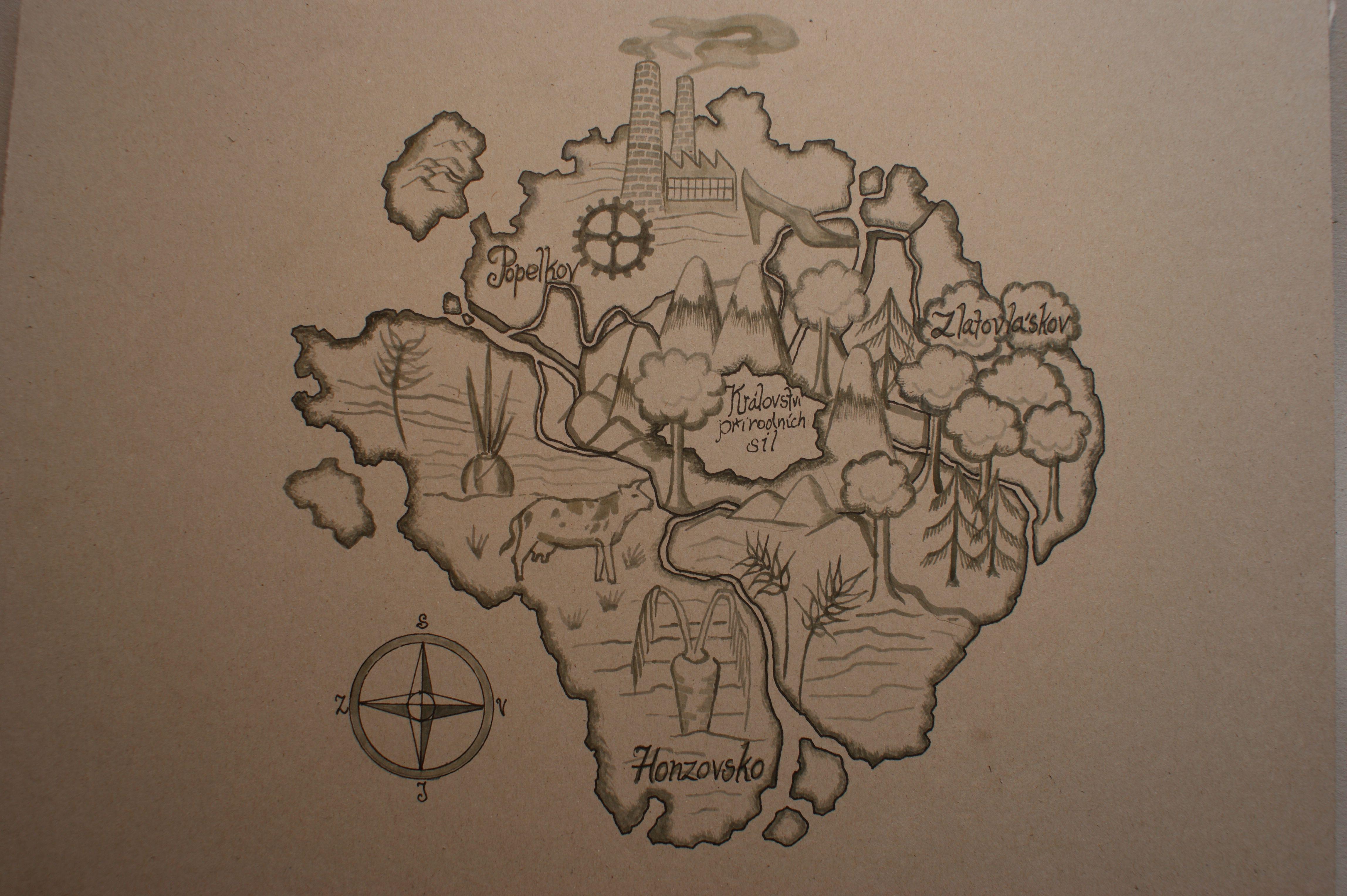 Mapa královského ostrova